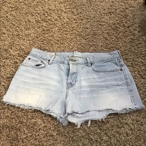 Abercrombie and Fitch size 10R denim shorts